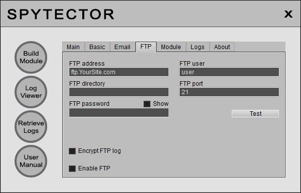 Free keylogger user Manual